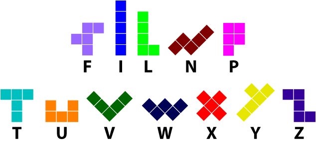 http://puzzler.sf.net/docs/images/ominoes/pentominoes.png